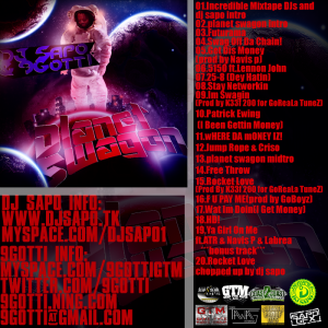 9Gotti -Planet Swagon Back Cover